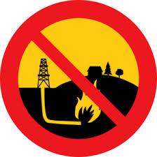 anti-fracking poster